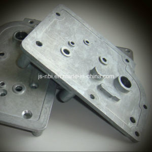 High Quality Top Precise Zinc Die Casting Gear Plate for The Motor with CNC Machining pictures & photos