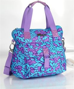900d Polyester Handbags with Colorful Printing (J14010702-1) pictures & photos