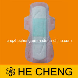 320mm Nonwoven/Cotton Ultra Long Sanitary Napkin pictures & photos