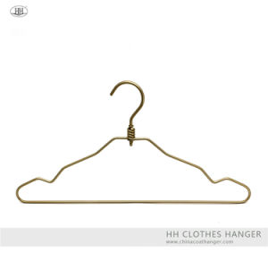 Aluminium Swivel Hook Clothes Top Hangers with Notches pictures & photos