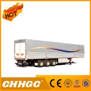 3 Axle 25 Ton Van-Type Cargo Semi-Trailer pictures & photos
