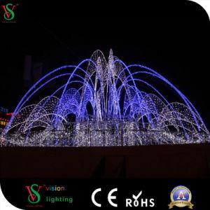 2017 New Design LED Street Motif Fountains Christmas Motif Light pictures & photos