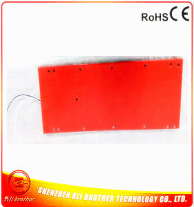 658*202*3mm Industrial Heater Silicone Rubber Heater 380V 1140W pictures & photos