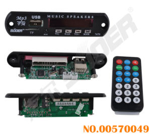 12V MP3 Player Decoder Board with FM Radio (00570049) pictures & photos