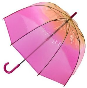 See Through POE Dome Umrella, Pink Rain Umbrella