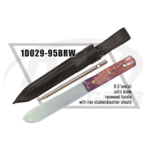 "9.5"" Overall Rosewood Handle Dagger with Satin Blade: 1do29-95brw pictures & photos"