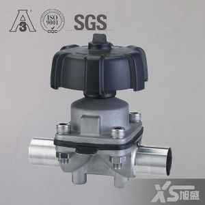 Stainless Steel Sanitation Diaphragm Valves for Pharma Application pictures & photos