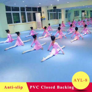 Good Quality Ecofriendly PVC Ballet Dance Hall Vinyl Flooring pictures & photos