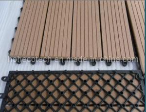 Indoor/Outdoor WPC Interlocking Decking Tiles pictures & photos
