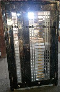 Black Stainless Steel Door with Glazing Trim in SUS304 (ES-8011) pictures & photos