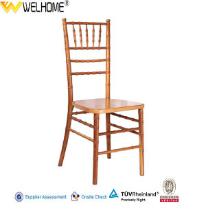 2015 Brand New Wooden Wedding Chiavari Chair pictures & photos