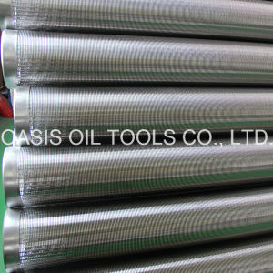 Continuous Slot Vee Shaped Wire Wedge Wire Screens pictures & photos