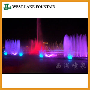 Colorful Musical Dancing Fountain for an Artificial Lake pictures & photos