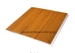 Wooden Colors Lamination PVC Panels PVC Wall Panel for Home Decoration pictures & photos