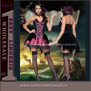 Wholesale Evil Vampire Halloween Sexy Costume Lingerie (80749) pictures & photos
