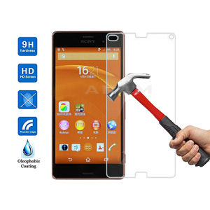 Tempered Glass Screen Guard Film Screen Protector for Sony Xperia Z4 Compact