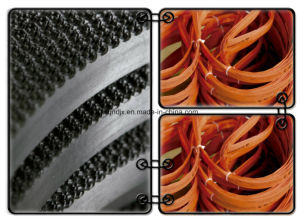 High Quality Frozen Bone Cutting Bandsaw Blades pictures & photos
