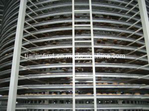 Bakey Stainless Steel Hamburger Bread Spiral Cooling Tower pictures & photos