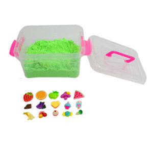 1kg 2016 New DIY Sensory Therapy Discovery Magic Sand Toy with Resin Pieces for Kids pictures & photos