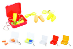 CE PU Foam Safety Earplug Ge007 pictures & photos