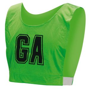Healong Team Wear Compression Digital Printing No MOQ A Line Netball Bibs pictures & photos