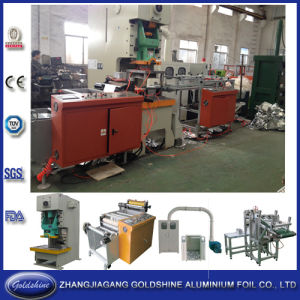 Household Aluminum Foil Container Machine (JF21-110) pictures & photos