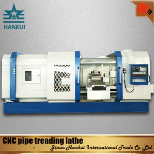 Qk1313 Automatic Pipe API Threading CNC Lathe pictures & photos