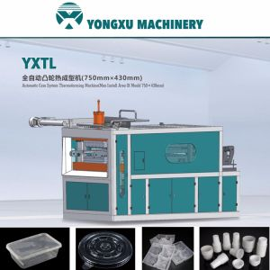 Plastic Drinking Cup Forming Machine Cam System (YXTL 750*450) pictures & photos
