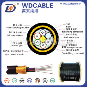 Outdoor Fiber Optical Cable, ADSS Optical Fiber Cable