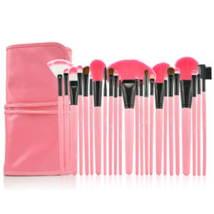 Pink Handle Stock Makeup Brush Lowest Price pictures & photos