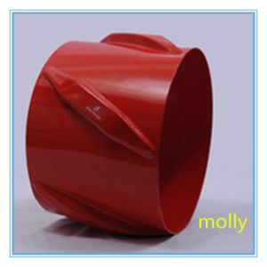 Solid Body Spiral Blade Left Hand Rigid Centralizer pictures & photos