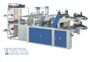 Dzb-500 Automatic High Speed Film Handle Bag Making Machine pictures & photos