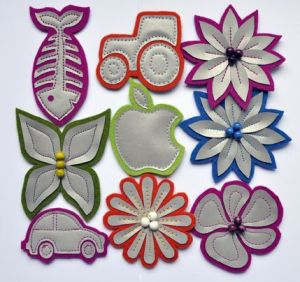 Reflective Craft Safety Refletor Reflective Patch for Bag and Clothes pictures & photos