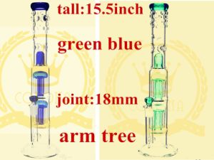 China Factory Price Shower Mushroom Perc Glass Water Pipe Wholesale High Quality Recycler Glass Smoking Water Pipe pictures & photos