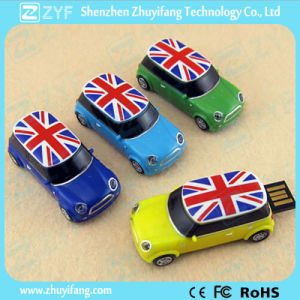 Custom Logo Mini Cooper Plastic USB Flash Drive (ZYF1254)