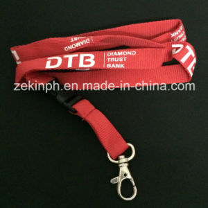 Cheap Polyester Lanyard with Printing Logo pictures & photos