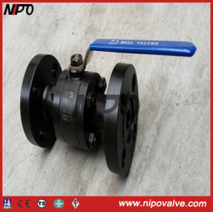 Forged Steel Flange Floating Ball Valve pictures & photos