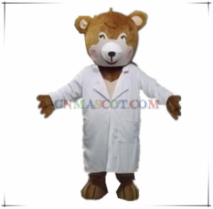 Humane Doctor Bear Mascot Costume for Sale