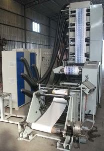 Flexo Printing Machine 420 with 6 UV pictures & photos