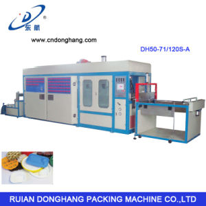 PVC/PP/Pet/PS Salad Container Thermoforming Machine pictures & photos