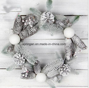 42*42cm Rattan Gift Pendant Decoration for Christmas pictures & photos