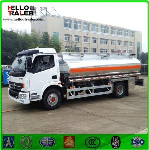 Dongfeng 4X2 Aluminum Alloy 7000 Liters Fuel Refueling Tanker Truck pictures & photos