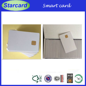 Contact IC Smart Card with Fudan FM4442 Chip pictures & photos