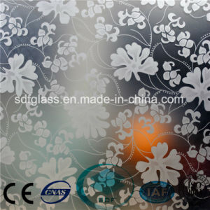 Acid Etched Glass/Frosted Glass/Art Glass with Ce, ISO/ Sdf10 pictures & photos