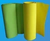 EVA Foam Roll Laminate D01-110g Fabric with Glue and Thin Film pictures & photos