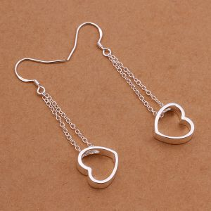 925 Stealing Steel with Heart Shape Pendant Hang in Chain  pictures & photos
