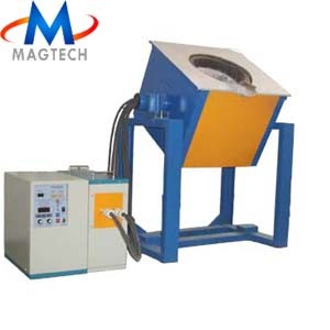 Induction Heating Machine as Melting Furnace (45KW, Steel, Copper, Gold, Silver) pictures & photos