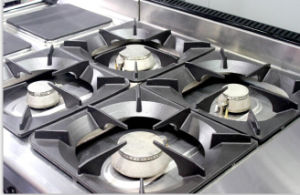 4 Burner Gas Freestanding Cooker with Builed in Oven (HGR-94G) pictures & photos