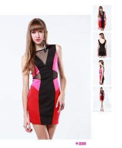 Ladies Denim Dress Playsuits