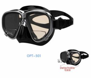 High Quality Diving Masks with Myopic Lens (OPT-501) pictures & photos